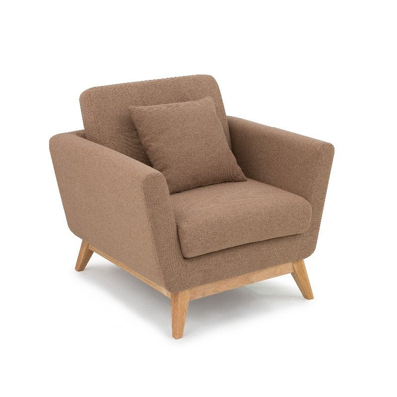 North European cloth chair